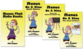 Menus On A Dime Series