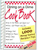 Dining On A Dime e-Book - Eat Better, Spend Less