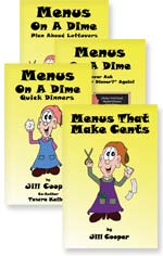Menus On A Dime e-books