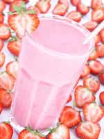 Yummy strawberry shake recipe!