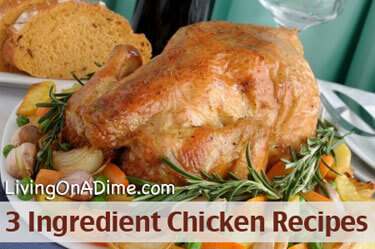 3 Ingredient Chicken Recipes