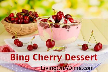 Bing Cherry Dessert Recipe