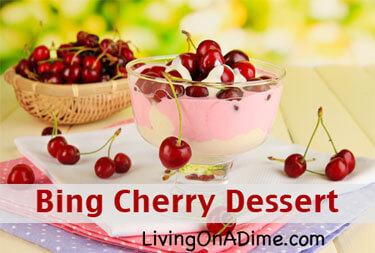 Bing Cherry Dessert Recipe