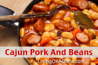 Cajun Pork and Beans Recipe