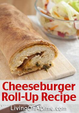 Cheeseburger Roll Up - Chocolate Eclair Cake Recipe