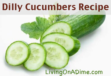 Dilly Cucumbers Recipe
