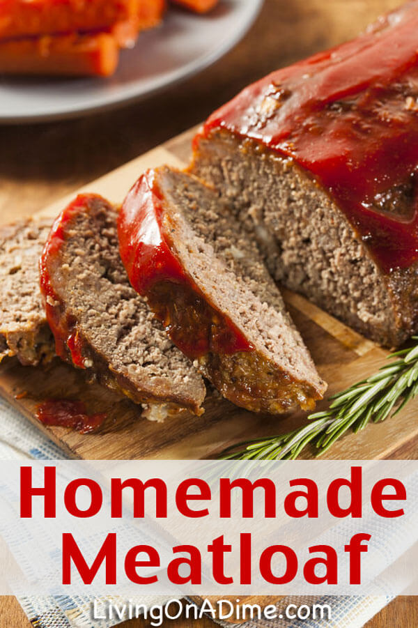 Easy Homemade Meatloaf Recipe