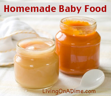How to Make Easy Homemade Baby Food Recipes