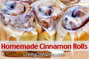 Homemade Cinnamon Rolls Recipes
