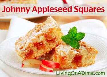 Johnny Appleseed Squares
