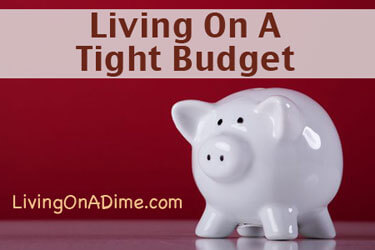 Debt Free Living - Living On A Tight Budget