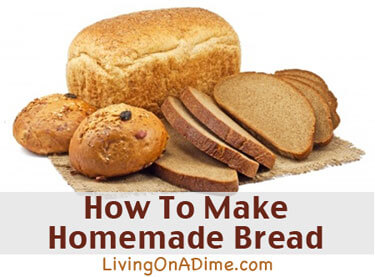 How to Make Homemade Bread Recipe