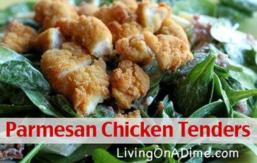Parmesan Chicken Tenders Recipe