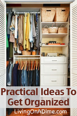 Practical Tips To Help You Get Organized