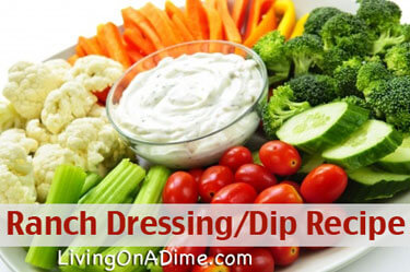 Ranch Dressing Recipe - Ranch Dip Recipe