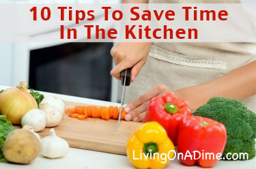 10 Tips To Save In The Kitchen
