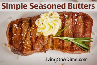 Simple Seasoned Butter Recipes