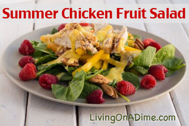 Summer Chicken Fruit Salad Recipe