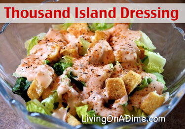 Homemade Thousand Island Dressing Recipe