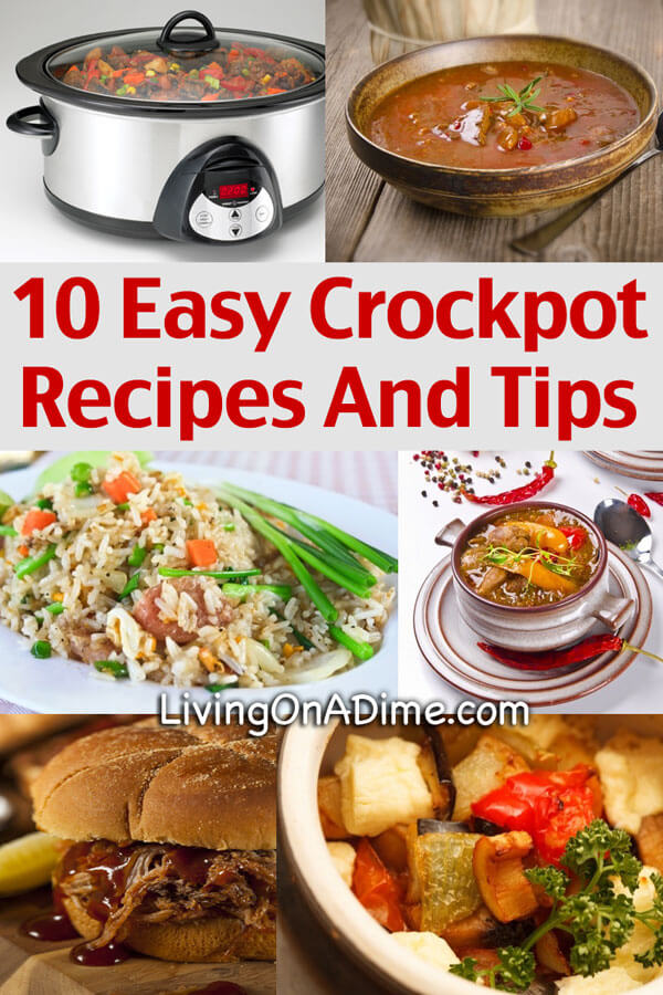 Easy Crockpot Tips And Recipes Save On Easy Meals