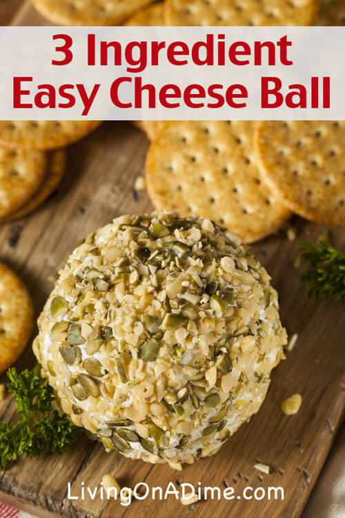Easy Cheese Ball II Recipe - Allrecipes.com - cream cheese, ranch ...