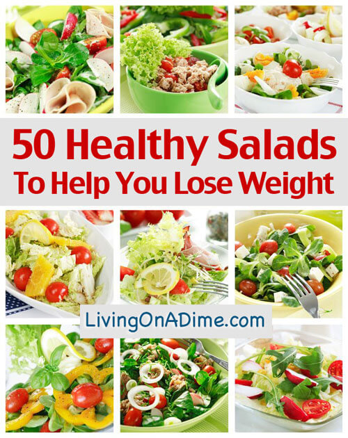 50 Healthy Salad Recipes To Help You Lose Weight
