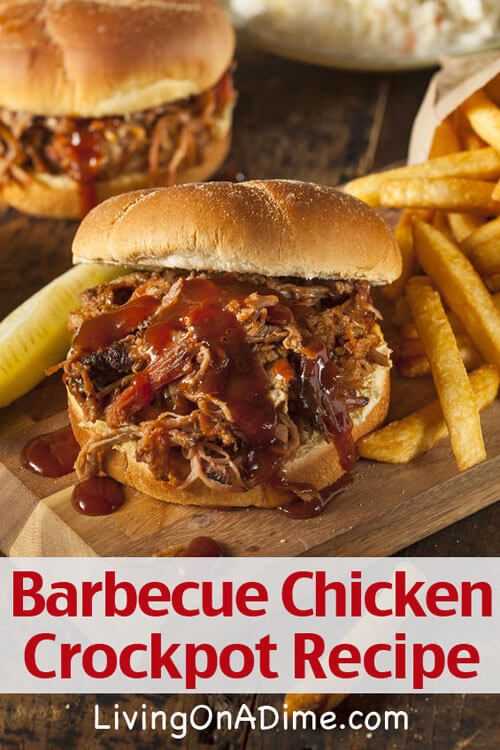 Barbecue Chicken Crockpot Recipe