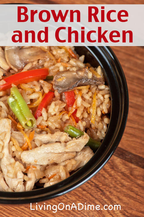 Brown Rice and Chicken Recipe