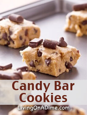 Chocolate Chip Candy Bar Cookies