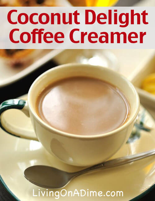Coconut Delight Coffee Creamer Recipe