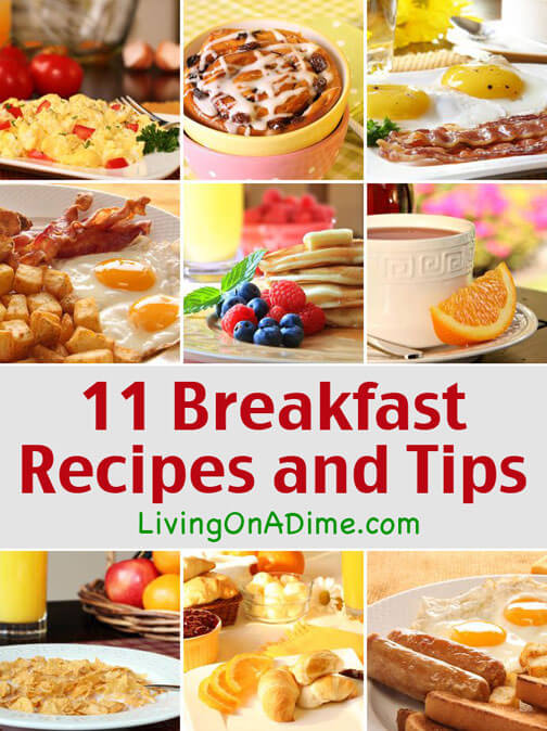 11 Delicious Breakfast Recipes and Tips