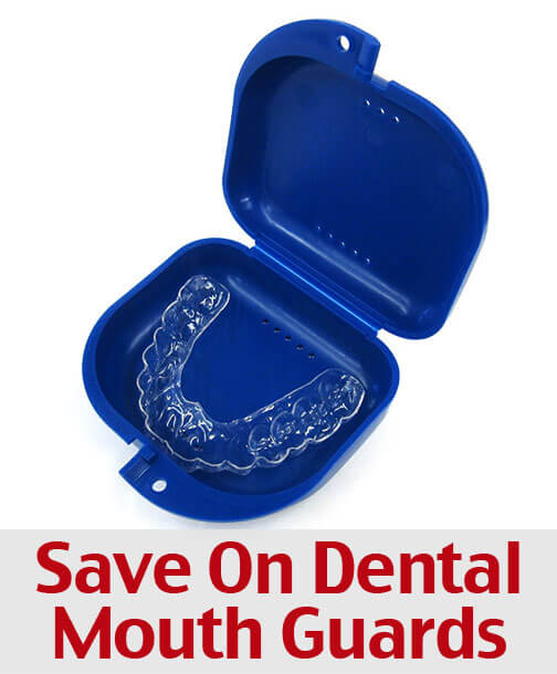 Save On Dental Mouth Guards to Reduce Teeth Clenching