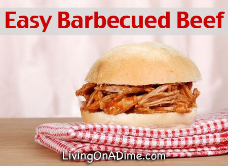 Easy Barbecued Beef Recipe