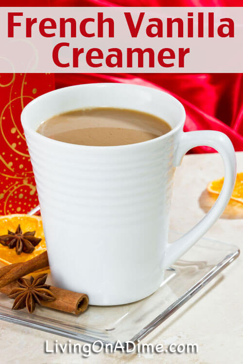 French Vanilla Creamer Recipe