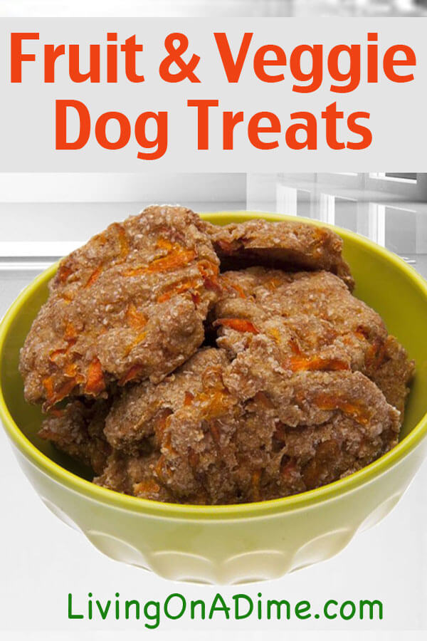 Fruit and Vegetable Dog Treats Recipe