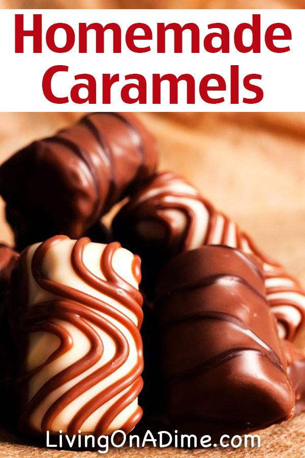 Homemade Caramels Recipe-Gluten Free