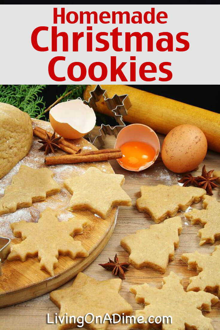 Homemade Christmas Cookie Tips Living On A Dime