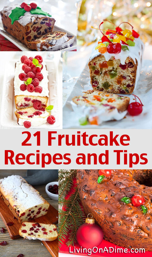 how to make homemade fruitcake