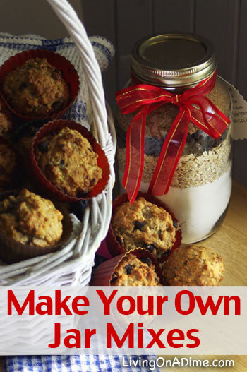 Make Your Own Jar Mixes