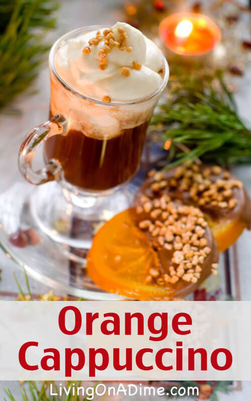 Orange Cappuccino Recipe