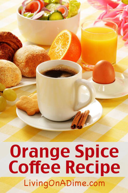 Orange Spice Coffee Recipe