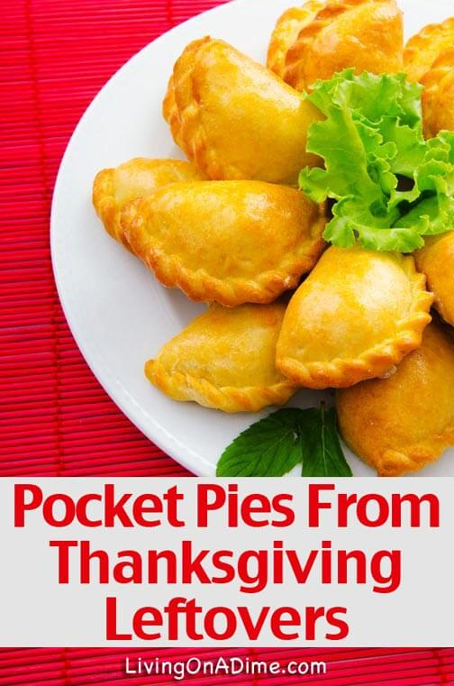 Pocket Pies Recipe From Thanksgiving Leftovers