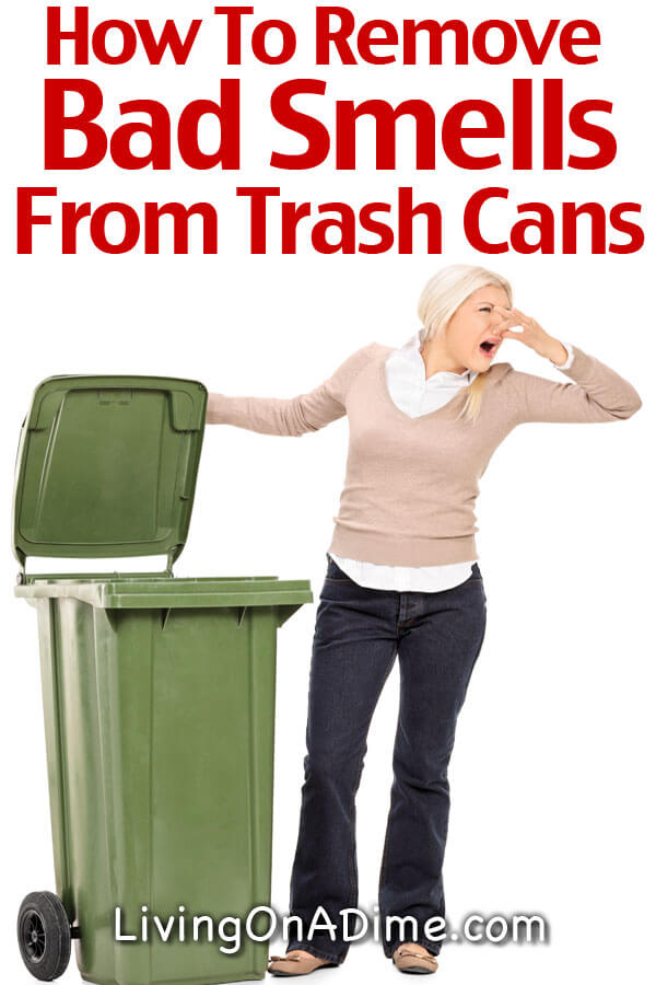 How To Remove Bad Smells From Trash Cans Books And More
