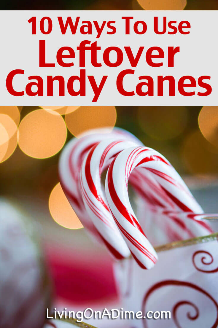 Are you drowning in leftover candy canes? Did you find a great deal at your after Christmas sales? Here are 10 easy ways to use those leftover candy canes!