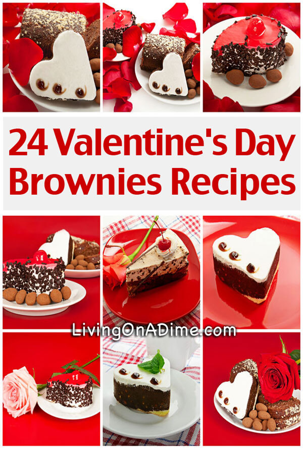24 Valentine's Day Brownies Recipes