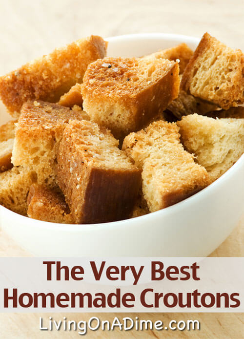 Best Homemade Croutons Recipe