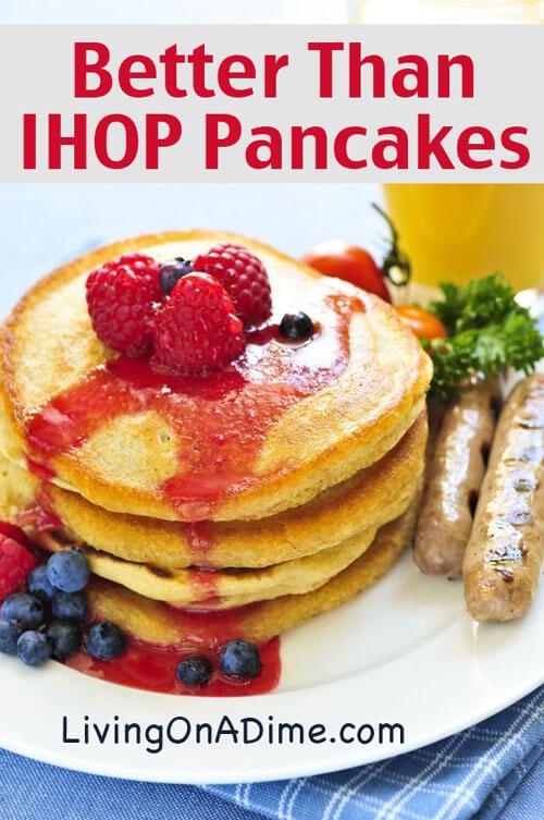 Better Pancakes Pancakes Jessica Maine Blog
