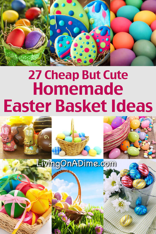 Cheap cute homemade easter basket ideasg negle