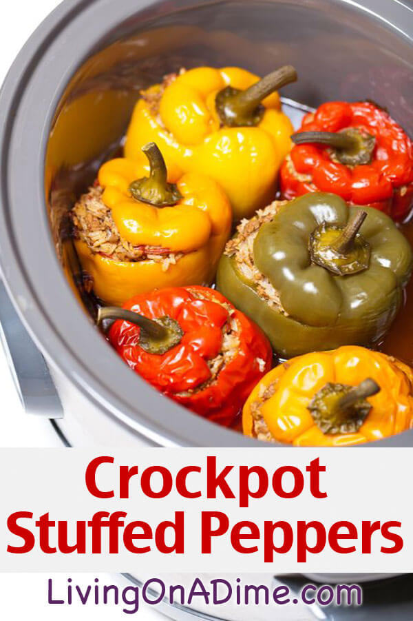 10 quick and easy crockpot recipes you can make for under $5! Just toss the ingredients into the crockpot in the morning for an easy meal at dinner time!