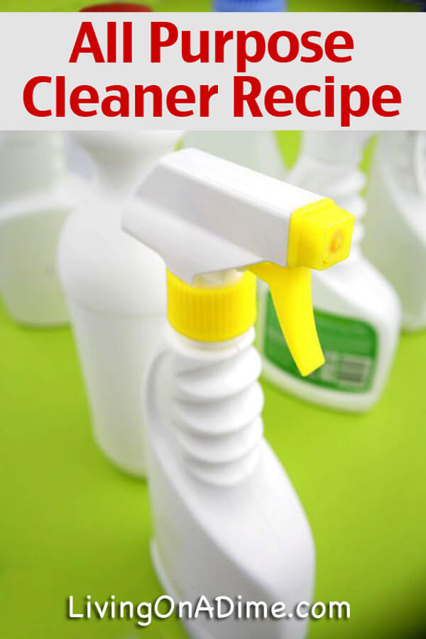 Homemade All Purpose Cleaner Recipe - 5 Homemade Cleaners You Didn't Know You Could Make at Home